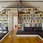 Vgradne knjižne police za urejen dom