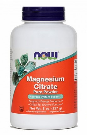Magnezijev citrat v prahu