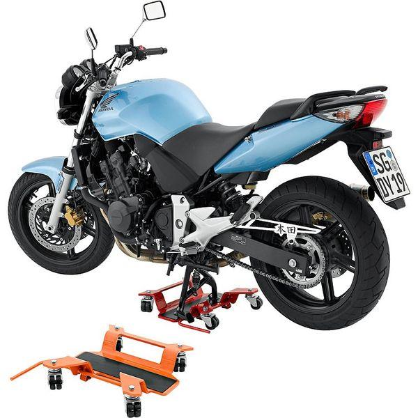Motorno kolo v domači garaži