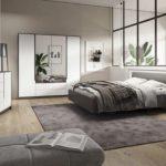 Kompleti spalnic za majhna stanovanja