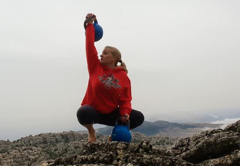 Kettlebell pomaga pri pridobivanju mišične mase